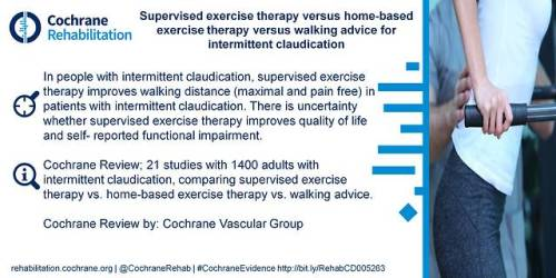 Supervised exercise therapy